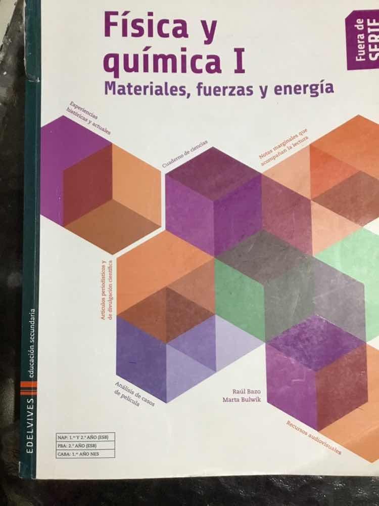 75780565b2 Física Y Química I Edelvives (fuera De Series) - $ 300,00 en Mercado ...