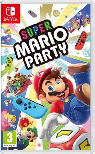 físico en español super mario party - nintendo switch