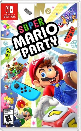 fisico nuevo super mario party nintendo switch en español