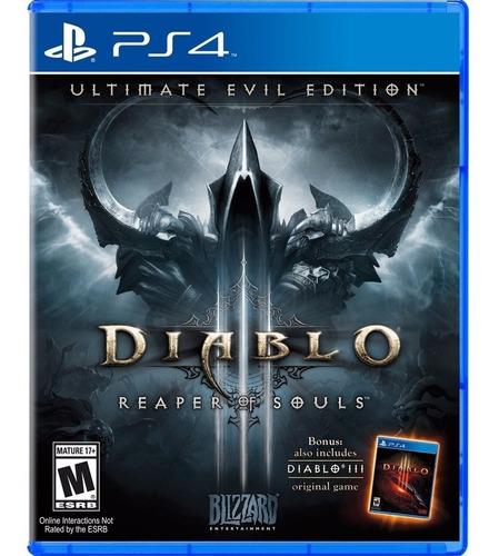 fisico ps4 diablo iii ultimate evil edition repear of souls