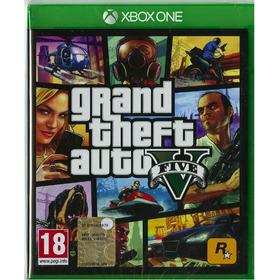 Fisico Y Nuevo Xbox One Grand Theft Auto 5 Gta V Español Sub