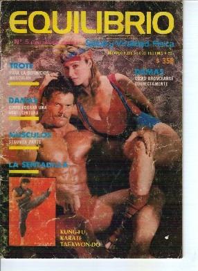 fisicoculturismo. equilibrio. 1988, enero, nº5