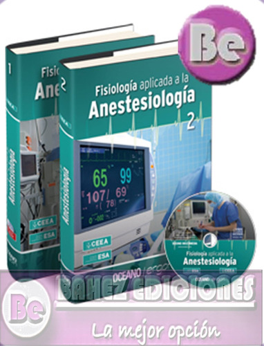fisiologia aplicada a la anestesiologia 2 vol + cd oceano