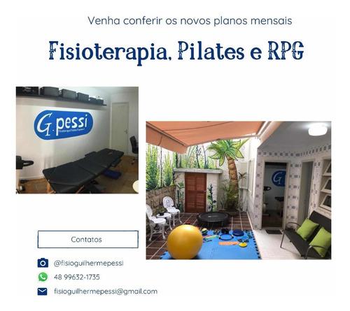 fisioterapia, pilates e rpg