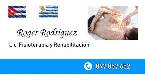 fisioterapia y rehabilitación a domicilio