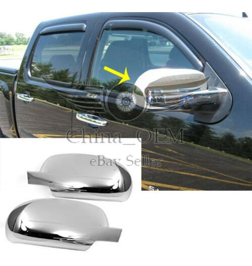 For Chevy Colorado 04 13 Gmc Canyon 04 13 Chrome Full Mirror Covers Ushirika Coop