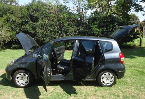 fit 2004 lx 1.4 8v abs airbag 114.000 km couro ar raridade