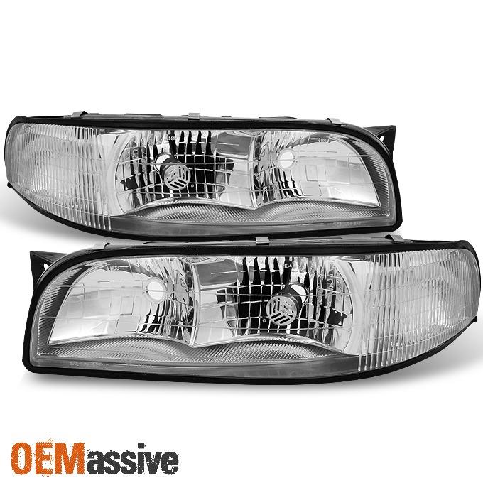 Buick Century Regal Passengers Headlight Assembly with Corner Lamp