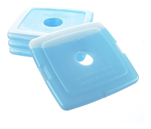 fit & fresh frescos coolers slim paquetes de hielo reutiliza