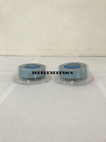 fita adesiva azul prótese capilar mega hair 12 metro x 1.9cm