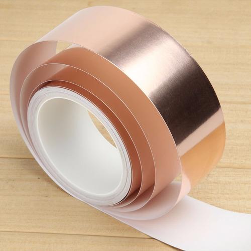 fita adesiva cobre blindagem 50mm x 3m