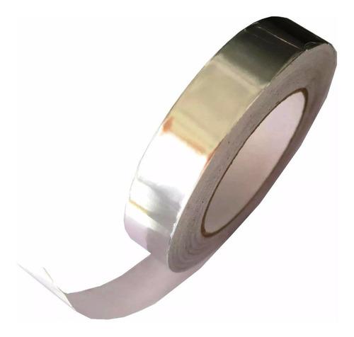 fita adesiva de alumínio ou refletiva 24mm 45m - hikari