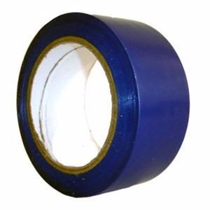 fita adesiva demarcação de área azul 50mm x 15m 02 unidades