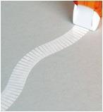 fita adesiva dupla face com aplicador 10 metros - multi tape