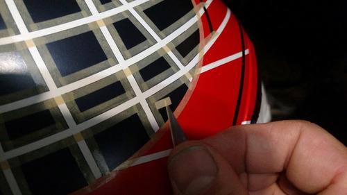 fita adesiva p/ filetamento - pintura - aerografia 2,0mmx45m