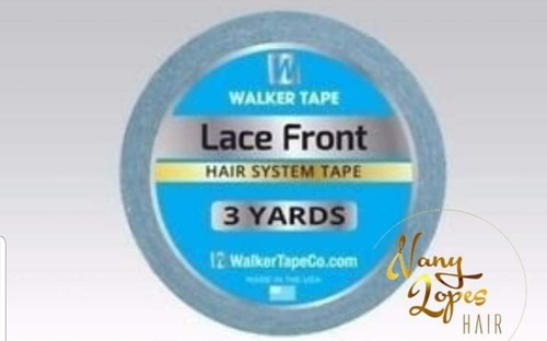 fita adesiva walker 1,3cmx3 metros para prótese e mega hair