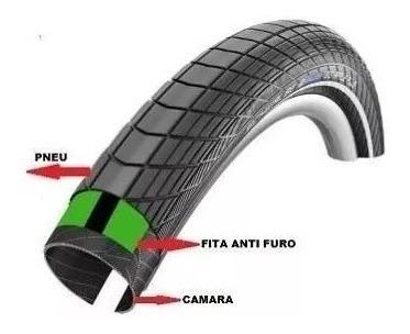 fita anti furo safe tire 35mm aro 29 27.5 26 mtb bike