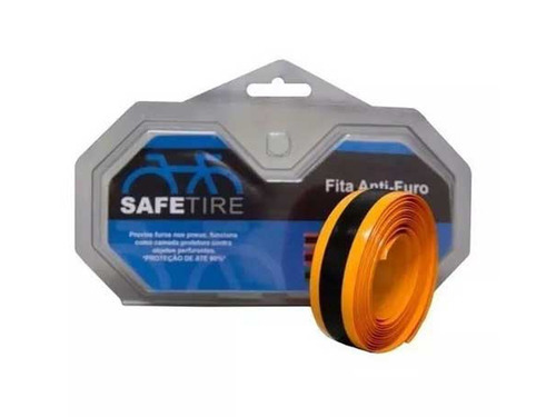 fita anti furo safetire pneu aro 27 700 23mm bike speed