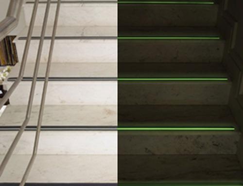 fita antiderrapante autoadesiva 3m neon escadas emergência