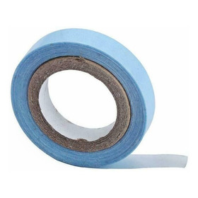 Fita Azul Dupla Face Prótese Capilar Mega Hair 3 Metros Lace