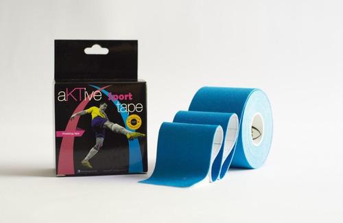 fita bandagem kinesio aktive tape original 5x5 anvisa