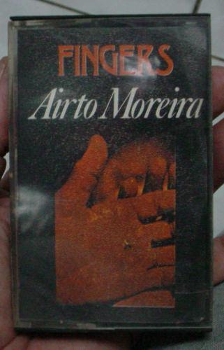fita  cassete   airto moreira  -  fingers    -   1973