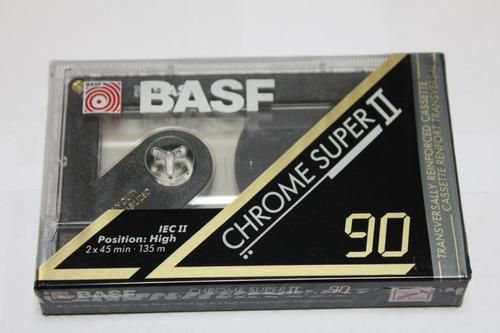 fita cassete basf chrome super 90 unid.) nova lacrad f. r$13