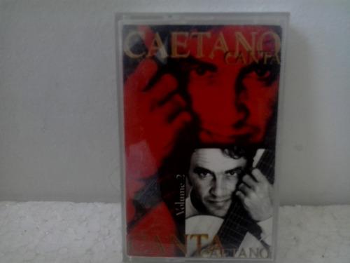 fita cassete  caetano veloso - caetano canta volume  2  1997