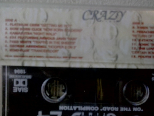 fita cassete crazy time  vol. 24 on the road compilation