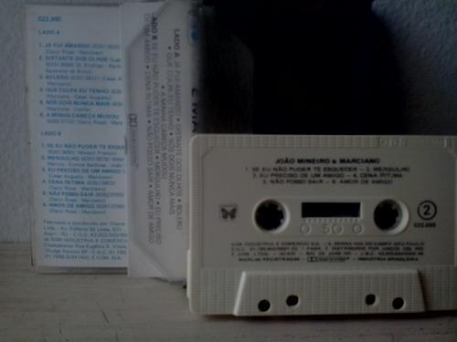 fita cassete joao mineiro e marciono 1989  - frete gratis