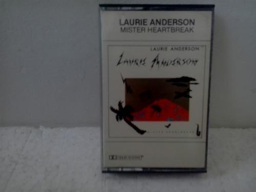 fita cassete laurie anderson - mister heartbreak