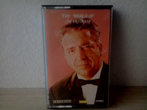 fita cassete mantovani - the world of - frete gratis