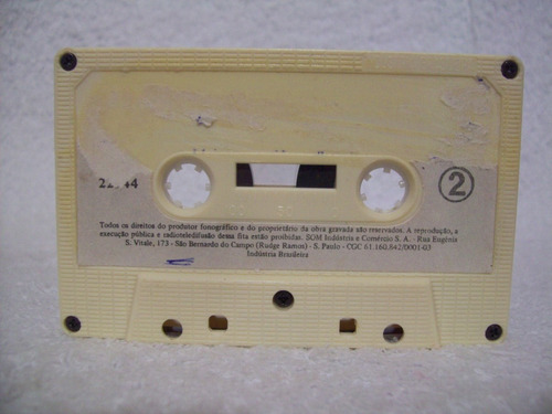 fita cassete original barrerito- o cantor das andorinhas
