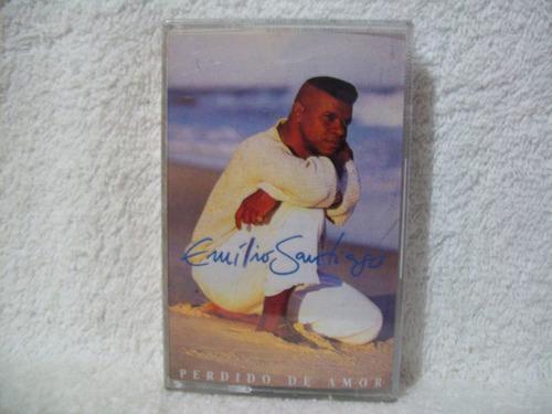 fita cassete original emílio santiago- perdido de amor