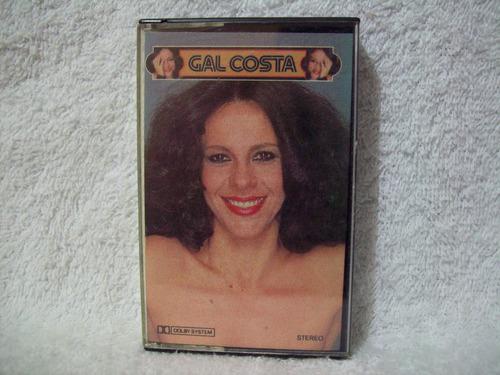 fita cassete original gal costa- fantasia