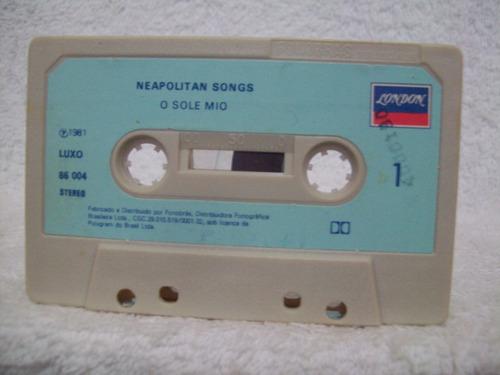 fita cassete original luciano pavarotti- o sole mio
