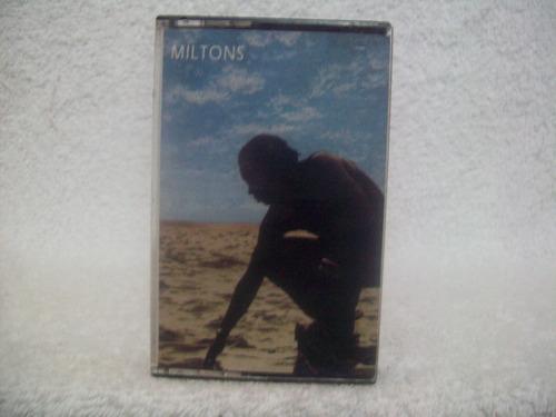 fita cassete original milton nascimento- miltons