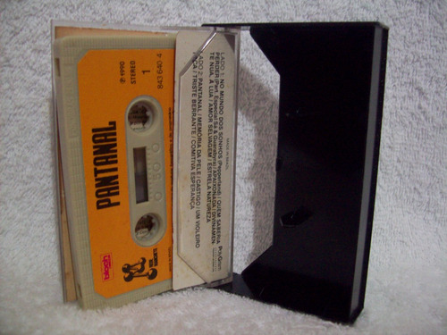 fita cassete original pantanal- volume 1