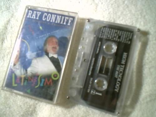 fita cassete original ( ray conniff - latinissimo ) raro