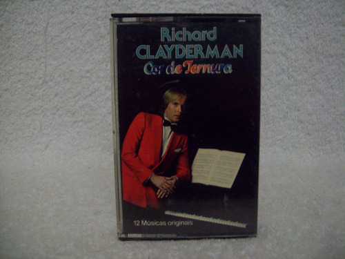 fita cassete original richard clayderman- cor de ternura
