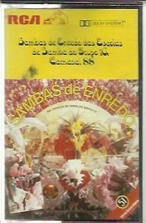 fita cassetesamba de enredo das escolas de samba do grupo 1