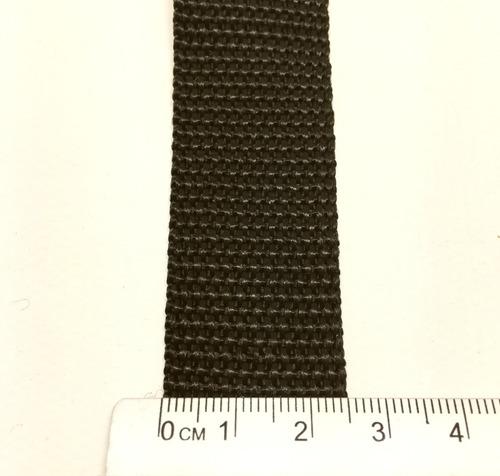 fita cinta amarração 25mm cbr (50 metros) preta promoção