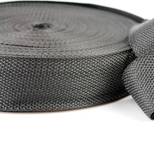 fita cinta amarração 40mm cbr 50 metros preta + frete grátis