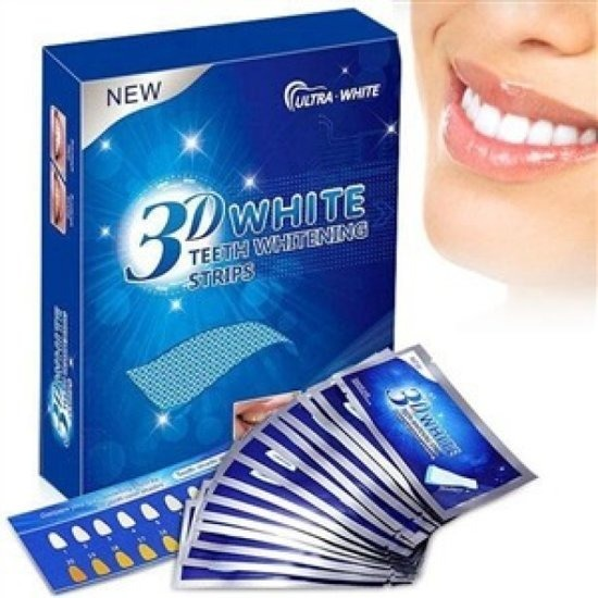Fita Clareadora Branqueadora Whitestrips Dental 14 Pares R 85 00