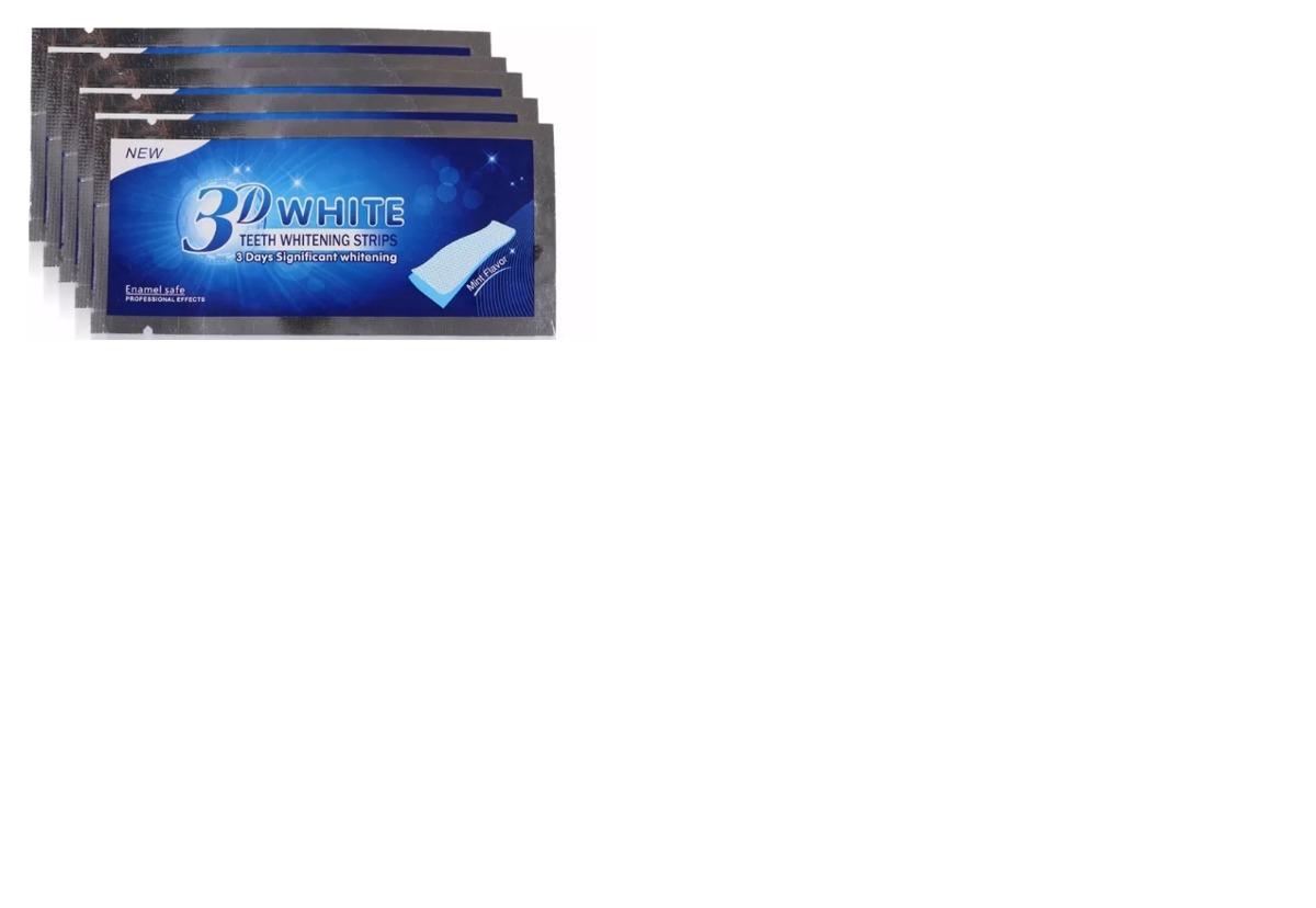 Fita Clareadora Dental 3d White Branqueamento 14 R 55 90 Em