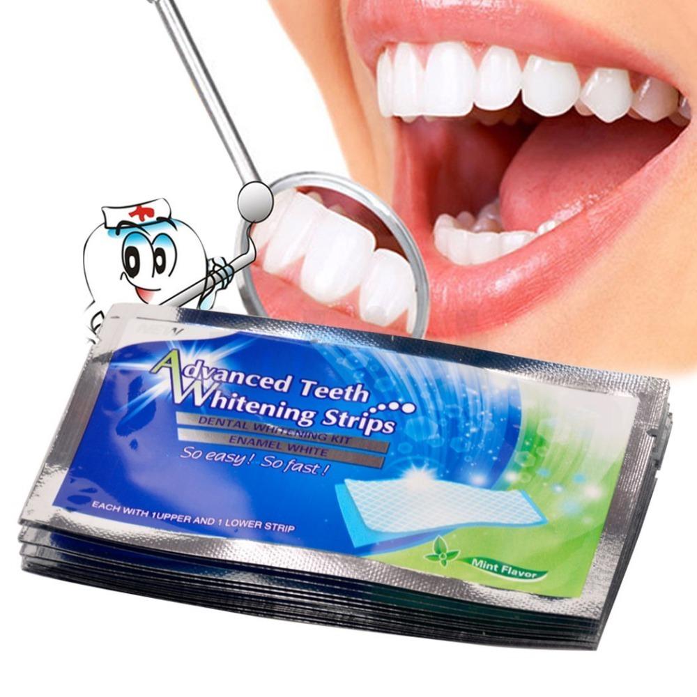 Fita Clareadora Dental Caixa 14 Fitas Frete Gratis R 39 90