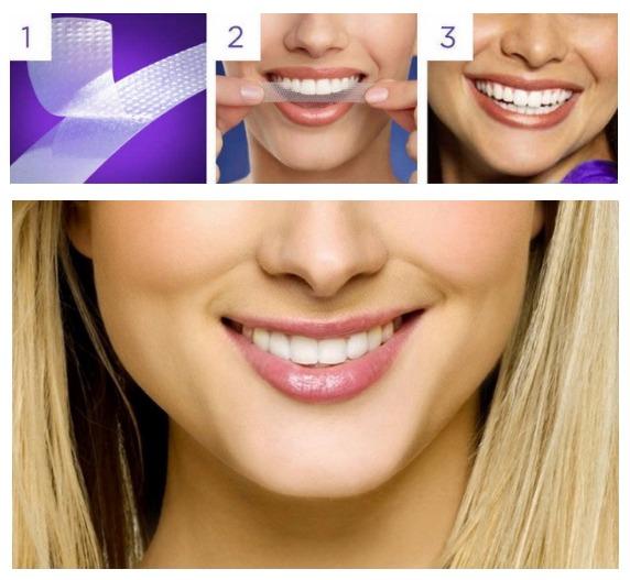 Fita Clareadora Dental Clareamento De Dente Whitestrips R 32