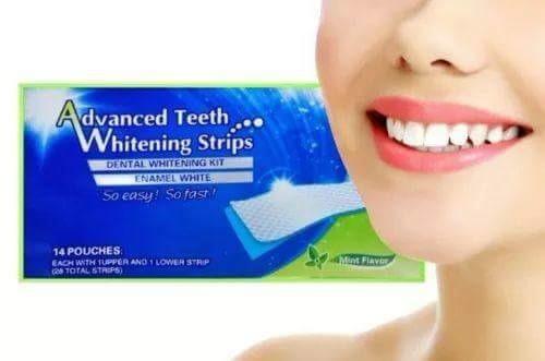 Fita Clareadora Dental Clareamento De Dente Whitestrips R 45
