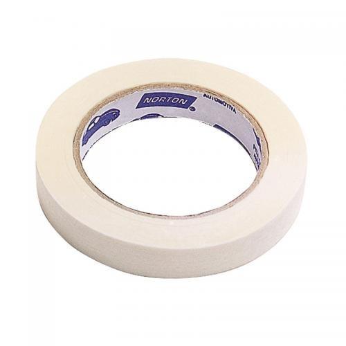 fita crepe adesiva de 24 mm x 50 metros - sleeve - norton