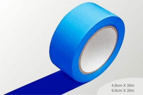 fita de demarcação azul - 0,96mm x 30m
